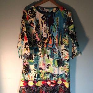 Misslook multi colored dress
